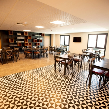 Business Breakfast Lounge